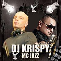 DJ Krispy live at the G