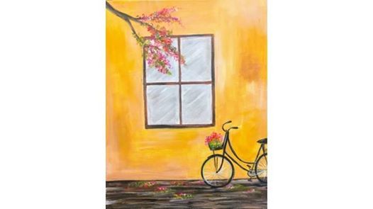 Paint Night: Ride With Me at Créatif, California