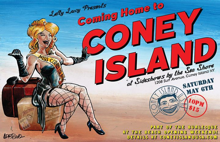 Lefty Lucy Coming Home to Coney Island