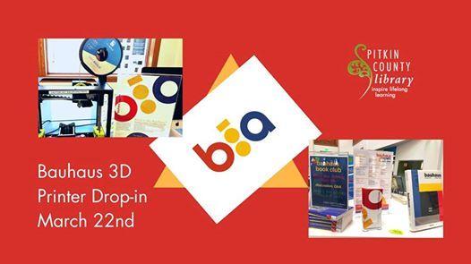 Bauhaus 3D Printer Drop-in
