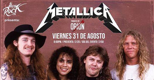 Tributo A Metallica En Saltillo Con Orion