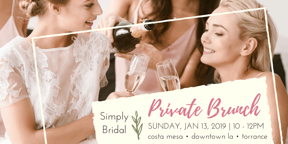 Simply Bridal Private Brunch