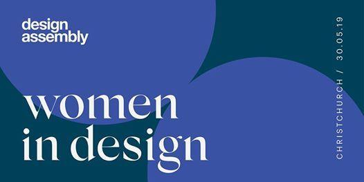 DA Women In Design May 2019 - Christchurch