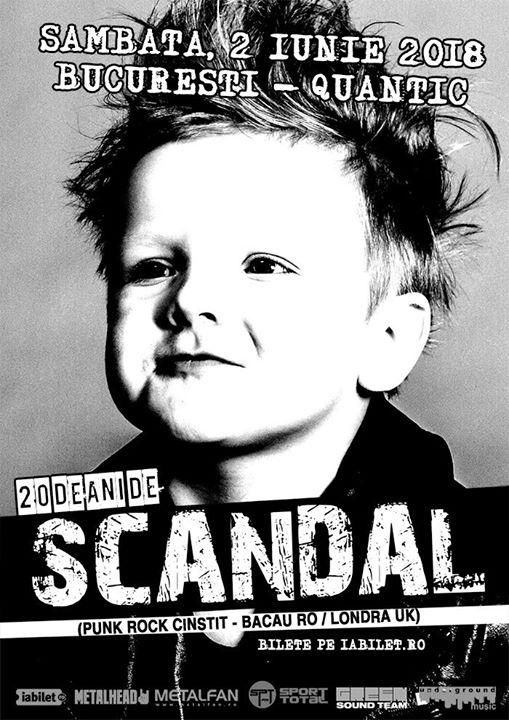 Scandal - concert aniversar - 2 iunie Bucuresti Quantic