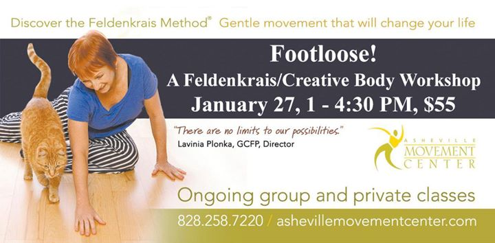 Footloose FeldenkraisCreative Body Workshp