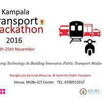 Kampala Transport Hackathon