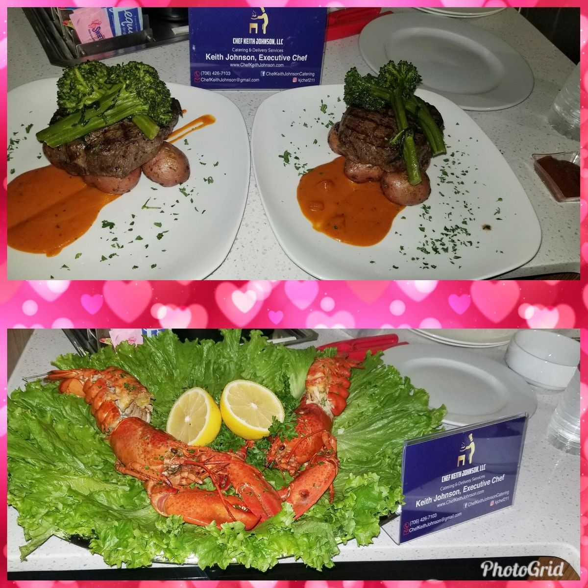 Private Chef Services for Valentines Day