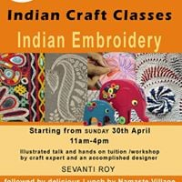 Indian Embroidery Class