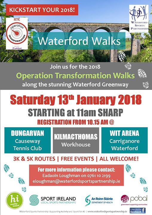 Operation Transformation Walk - Waterford