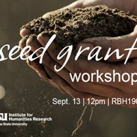ASU Faculty Seed Grant Workshop