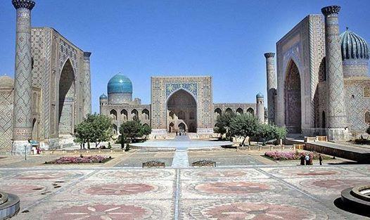 Silk Road Express To Uzbekistan