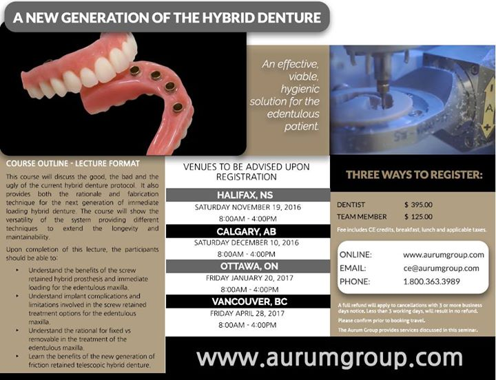 A New Generation of The Hybrid Denture