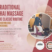 Traditional Thai Massage-Basic Course -The Classic Routine Wknd1