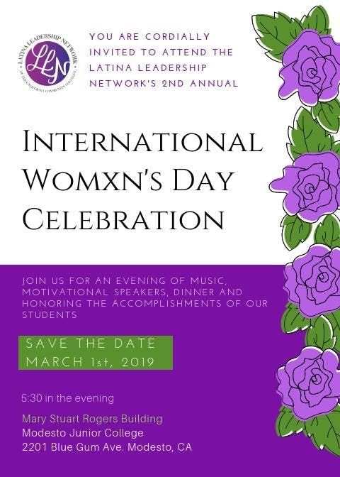 Mjc Llnccc International Womxns Day Scholarship Banquet At Modesto