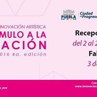 Becas de Innovacin Artstica y Estmulo a la Creacin IMACP 2016 4a. edicin.