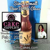 Isomalt Beer Bottle Spring TX