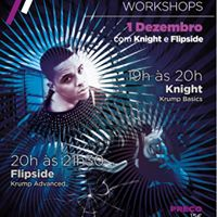 Workshop de KRUMP com Flipside e Knight