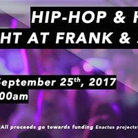 Franks Charity Hip-Hop &amp House Night