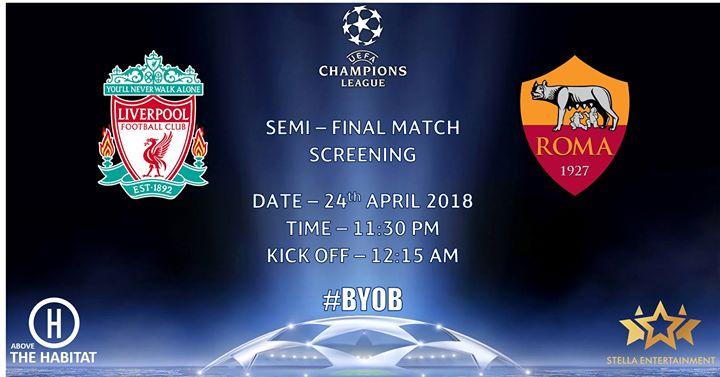UEFA Champions League Match Screening