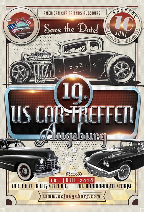 19. Us-Car Treffen Augsburg