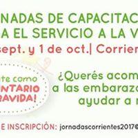 Jornadas de Capacitacin para el Servicio a la Vida  Corrientes