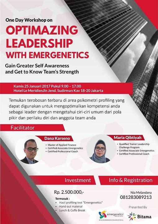 Optimizing Leadership With Emergenetics
