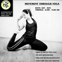 Movement Through Yoga With Apoorva&quotMohini&quot