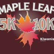 Granville Kiwanis Maple Leaf  5&amp10K