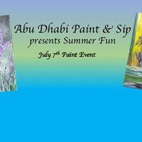 Paint &amp Sip Abu Dhabi