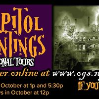 Free Capitol Hauntings Tours