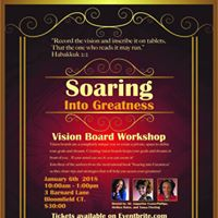 Soaring Into Greatness Vision Board Workshop