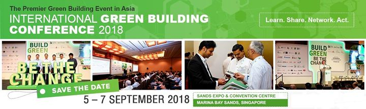Singapore Green Building Week 2018