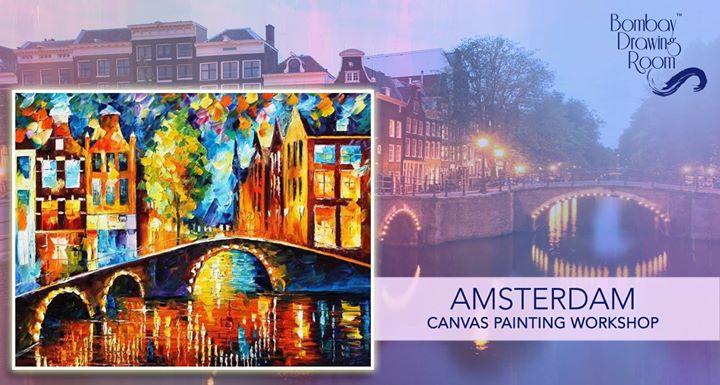 Amsterdam Canvas Painting Workshop - Khar