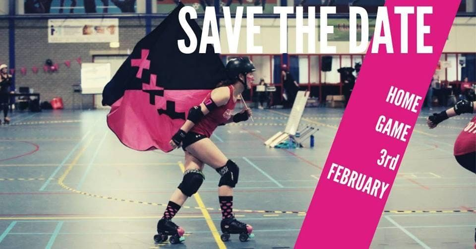 Amsterdam Roller Derby  Sunday 3 February 2019