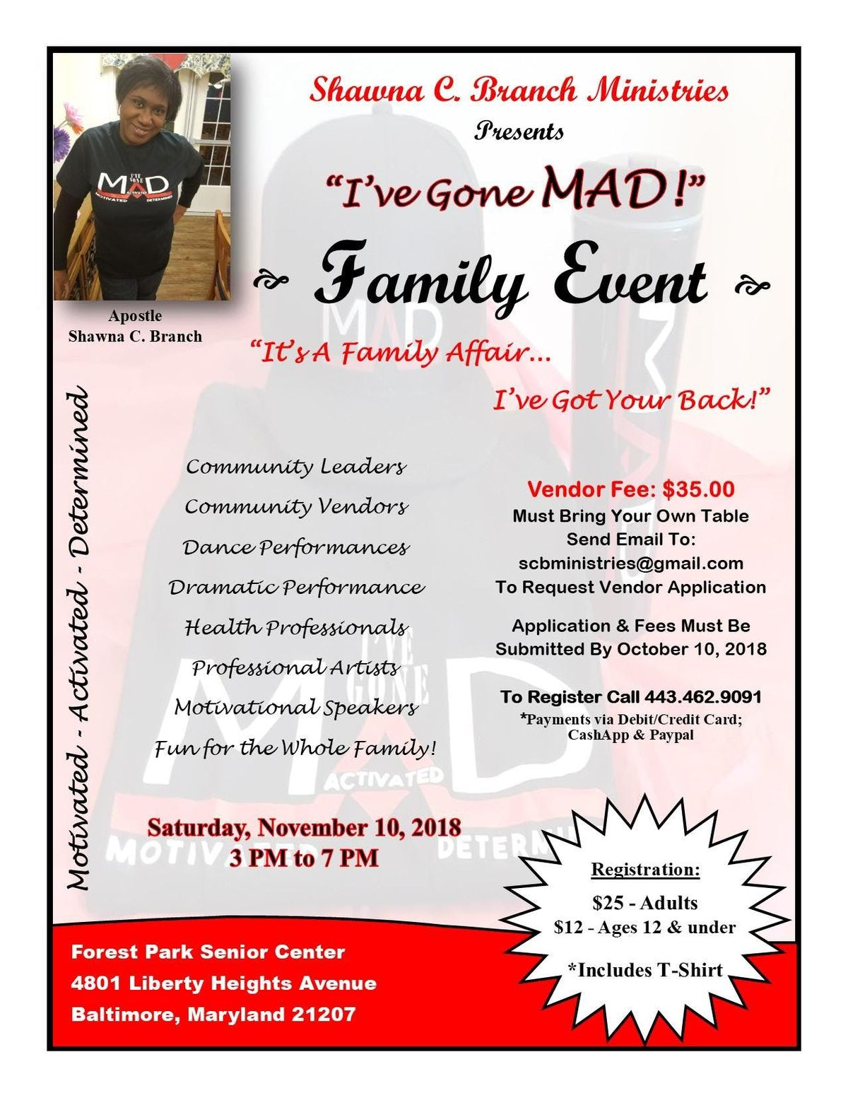 Ive Gone MAD Family Event