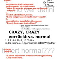 Crazy Crazy - verrckt vs. normal (Bhnerei Youngsters)
