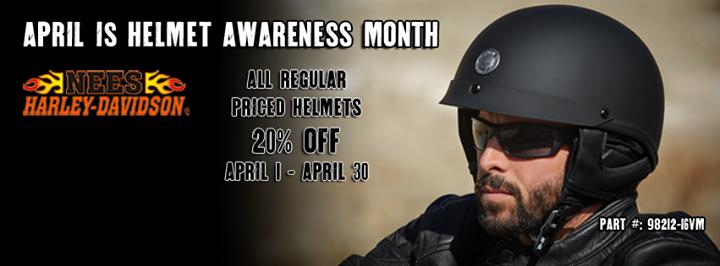 Helmet Awareness Month at Nees Harley-Davidson®   Galesburg