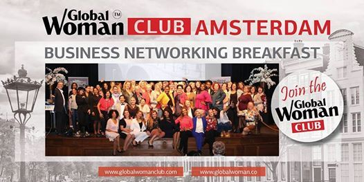 Global Woman Business Breakfast Amsterdam
