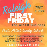 Raleigh First Friday W Candy Carver