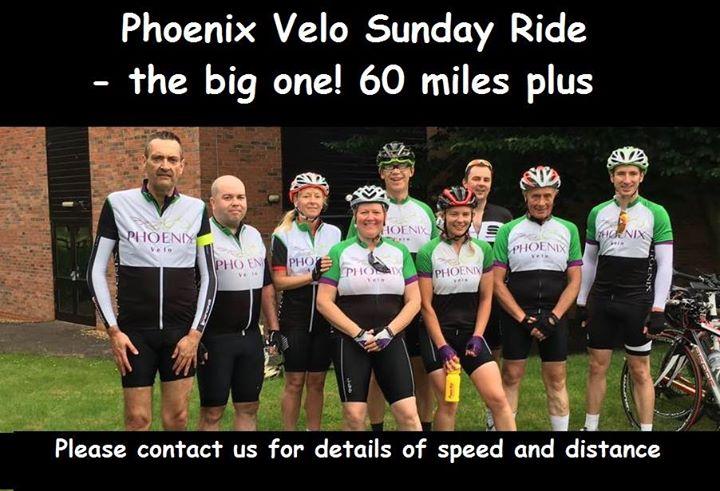Phoenix Sunday Ride - To Rosliston 60 miles