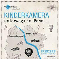 Kinderkamera-Premiere &quotUnterwegs in Bonn&quot