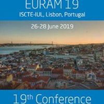 EURAM 2019 - ISCTE Lisbon