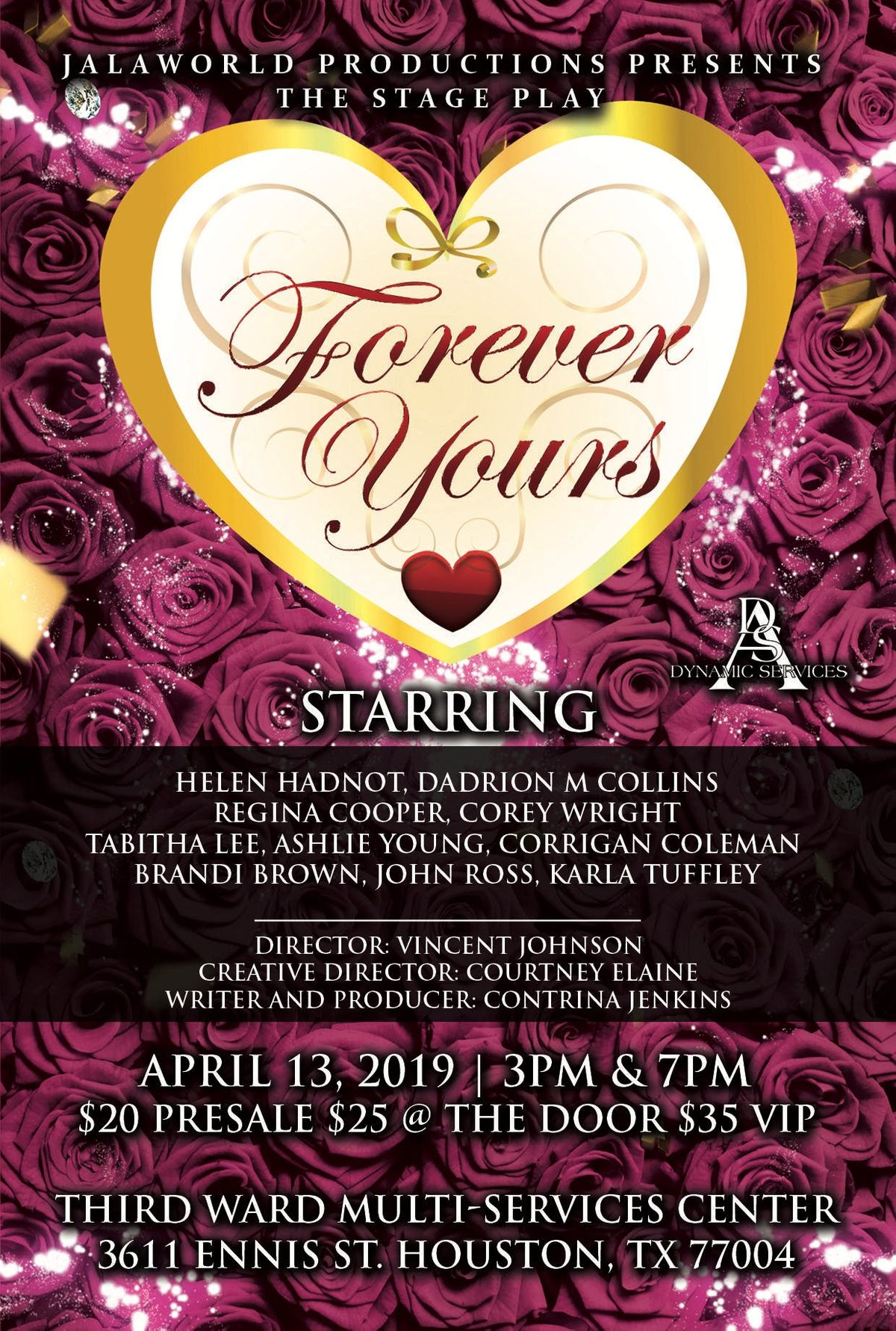 Forever Yours - Stage Play