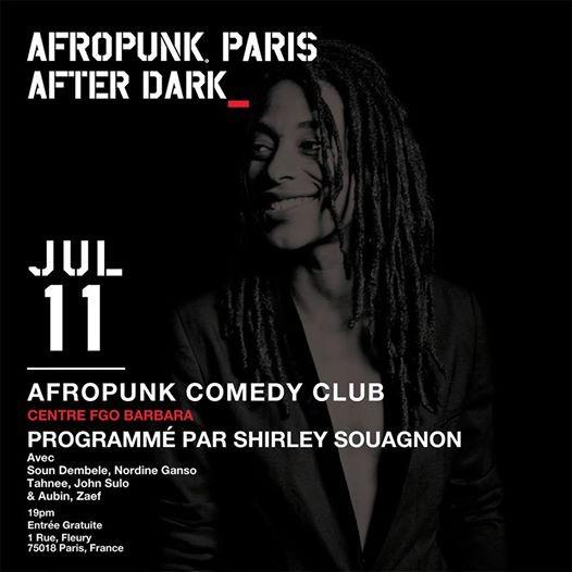 AFROPUNK Comedy Club