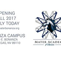 Mater Academy Bonanza Charter School - Information Table