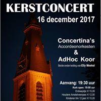 Concertinas en Ad-Hoc koor