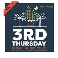 3rd Thursday December 21