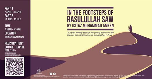 In The Footsteps of Rasulullah