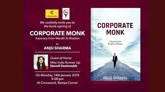 Book Signing of Corporate Monk