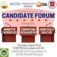 Florida Senate District 40 Candidate Forum